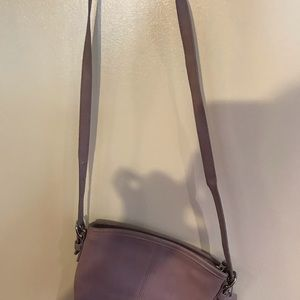 Lilac Coach bag